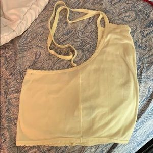 Yellow halter top- Forever 21